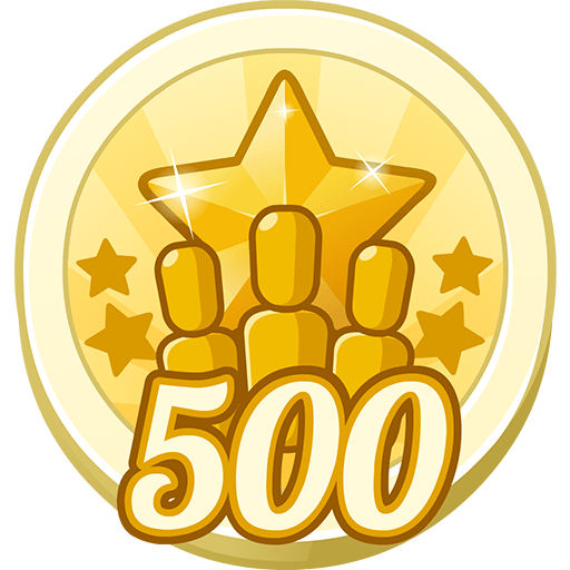 500 Gold Stars Collected (Class)